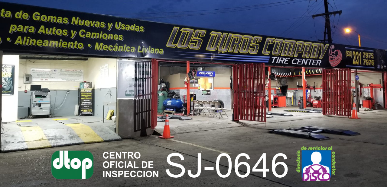 Gomera en Carolina - Los Duros Tire Center